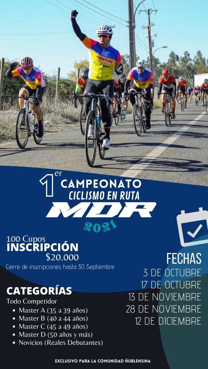 1° Campeonato de ciclismo de ruta Ñuble MDR
