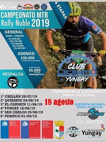4° Fecha Campeonato MTB Rally - Yungay