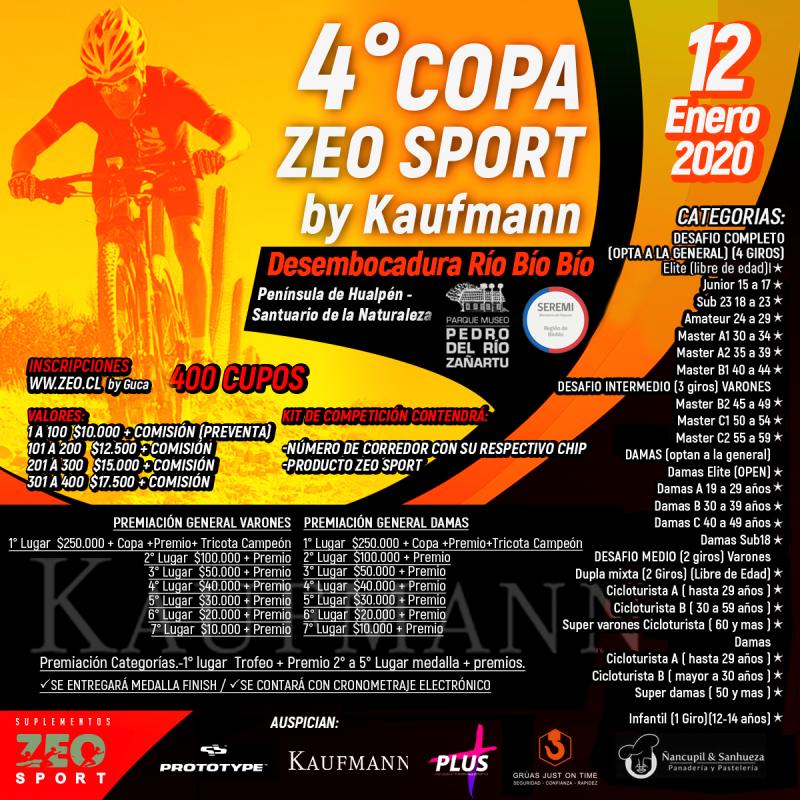 4° Copa Zeo Sport By Kaufmann