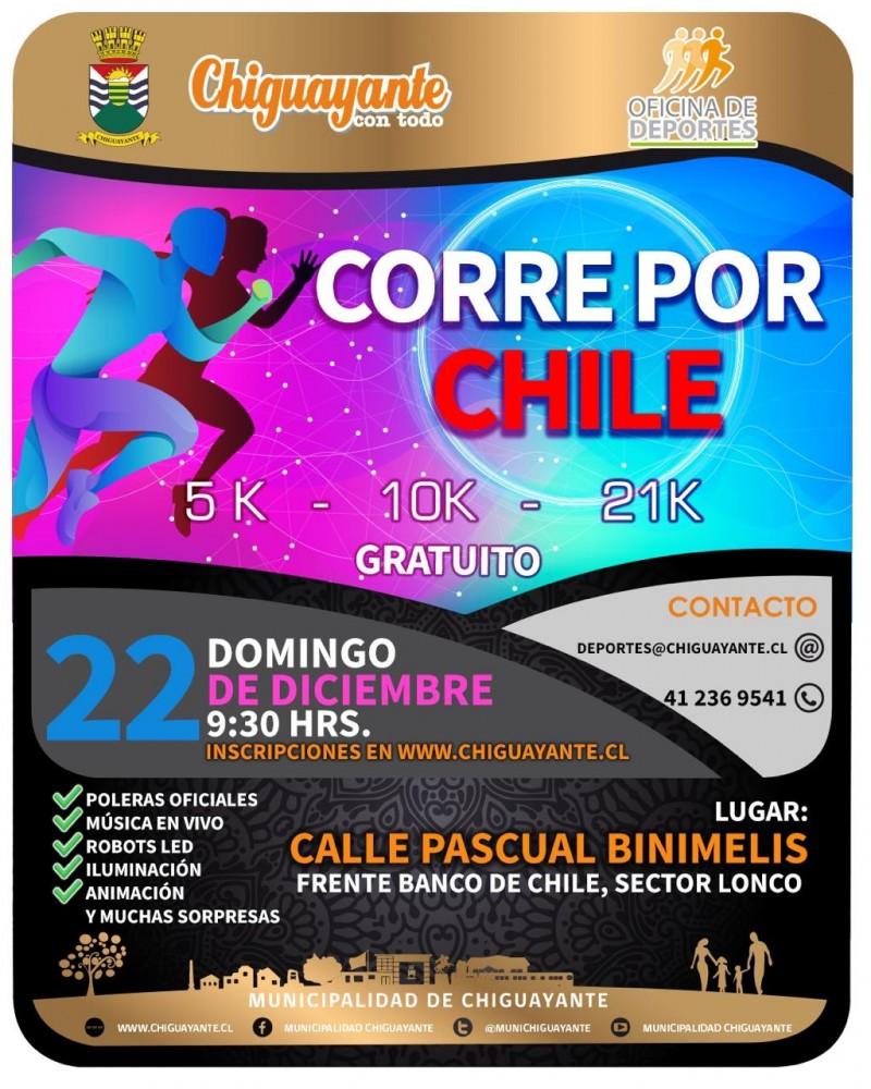 Corre por Chile