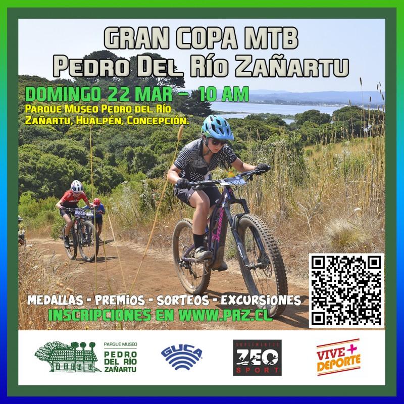 GRAN COPA PEDRO DEL RIO ZAÑARTU, CIRCUITO M.T.B. VIVE + DEPORTE