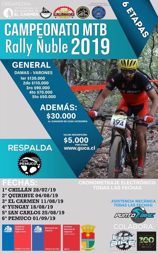 2° Fecha Campeonato MTB Rally - Quirihue